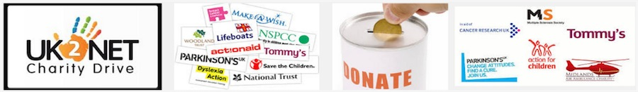 Email list of charities